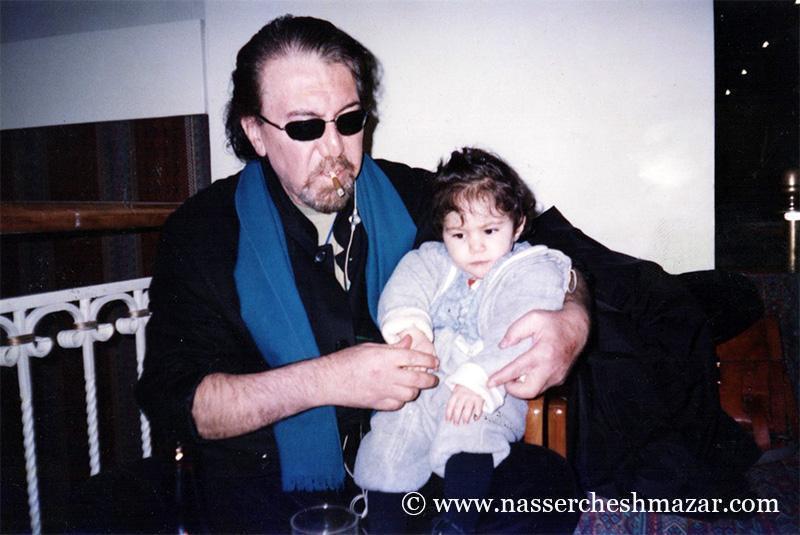 با رعنا، دخترش